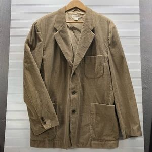 J. Crew Corduroy Men's Blazer Size Large